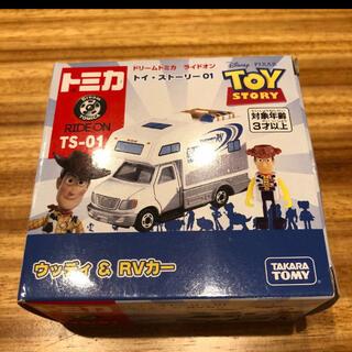タカラトミー(Takara Tomy)のドリームトミカ ライドオン トイ・ストーリー 01 ウッディ&RVカー(ミニカー)