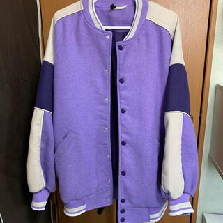 H&M - H&M スタジャン 紫