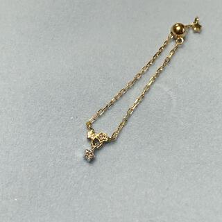 アガット(agete)のsowi 10kダイヤモンドチェーンリング(リング(指輪))