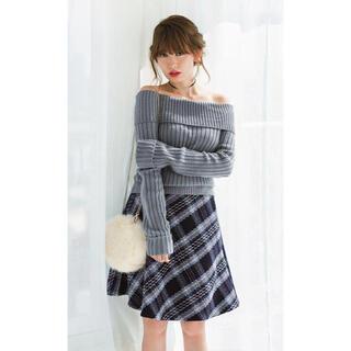 Rirandture - 小嶋陽菜さん着用 リランドチュール カルゼチェックフレアスカート