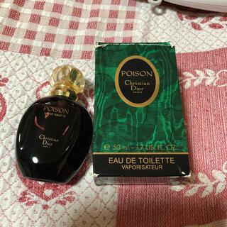 クリスチャンディオール(Christian Dior)のプワゾン オードトワレ 50m l(香水(女性用))