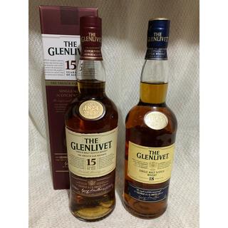 グレンリベットセット  15年&18年 旧々ボトル