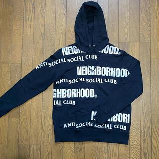 NEIGHBORHOOD - NEIGHBORHOOD✖️ANTISOCIALSOCIAL CLUBパーカー