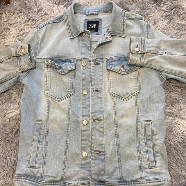 ZARA(ザラ)のZARA(ザラ)デニムジャケット メンズのジャケット/アウター(Gジャン/デニムジャケット)の商品写真