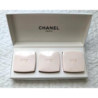 シャネル(CHANEL)のCHANEL N°5 サヴォン 3個 75g(ボディソープ/石鹸)
