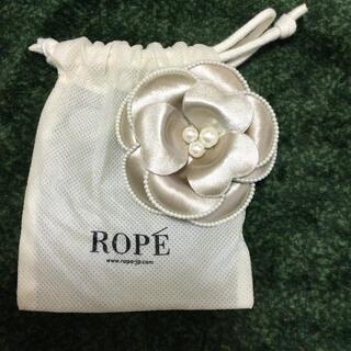 ROPE - ロペ コサージュ ベージュ