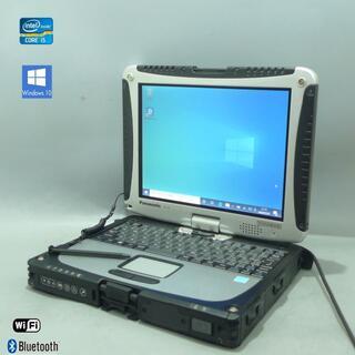 パナソニック(Panasonic)の中古タフブック Pana CF-19ZE001CJ i5 500G Win10(ノートPC)
