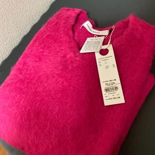 ラグナムーン(LagunaMoon)のLAGUNAMOON ピンクセーター新品未使用(ニット/セーター)