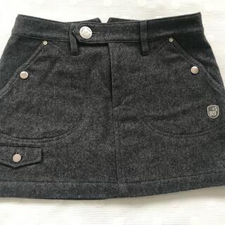 PEARLY GATES - パーリーゲイツ ウールスカート グレー 0サイズ
