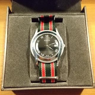 グッチ(Gucci)の【GUCCI】グッチ 5500M クオーツ時計(腕時計(アナログ))