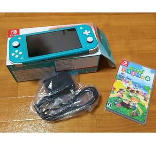 任天堂 - Nintendoスイッチライト あつまれどうぶつの森セット