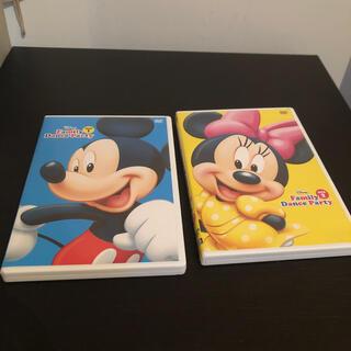 Disney - family dance party dvd2枚 DWE
