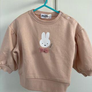 シマムラ(しまむら)のしまむら ミッフィー トレーナー 90 新品未使用(Tシャツ/カットソー)