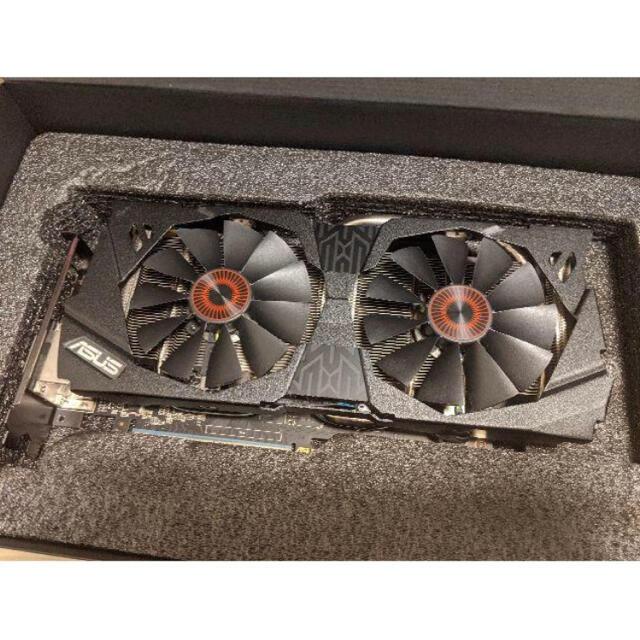 ASUS(エイスース)のASUS STRIX GTX970 DC2OC-4GD5 中古美品 スマホ/家電/カメラのPC/タブレット(PCパーツ)の商品写真