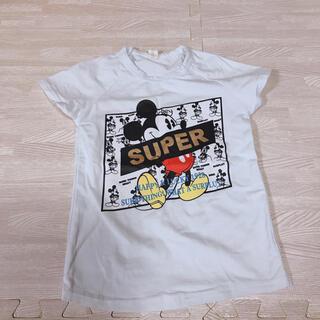 ディズニー(Disney)の100サイズ ミッキー tシャツ 新品未使用 super mickey(Tシャツ/カットソー)