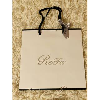 リファ(ReFa)のReFa 紙袋 リボン付き(ショップ袋)