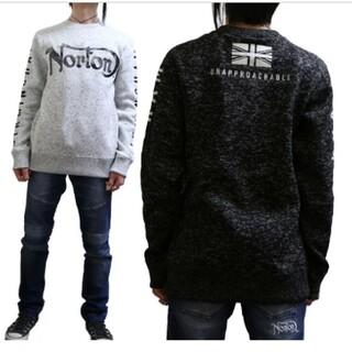 ノートン(Norton)のSALE!!9889円→4990円NORTONノートン撥水カモトレーナー(スウェット)