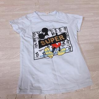 ディズニー(Disney)の110サイズ 新品未使用 super mickey ミッキー tシャツ(Tシャツ/カットソー)