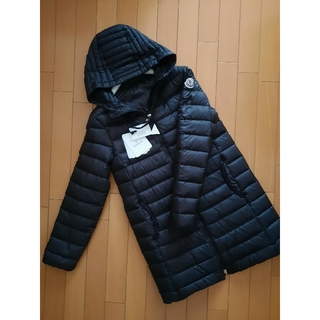 MONCLER - ⭐2021春夏/新品 MONCLER  ライトロングダウン レア 黒 14A