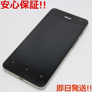 ゼンフォン(ZenFone)の美品 SIMフリー ZenFone5 A500KL ゴールド (スマートフォン本体)