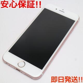 アイフォーン(iPhone)の美品 SOFTBANK iPhone6S 64GB ローズゴールド (スマートフォン本体)