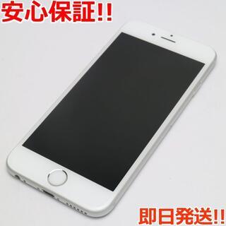 アイフォーン(iPhone)の美品 au iPhone6S 32GB シルバー 白ロム(スマートフォン本体)