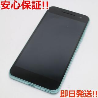 アンドロイドワン(Android One)の美品 Android One S1 ターコイズ (スマートフォン本体)