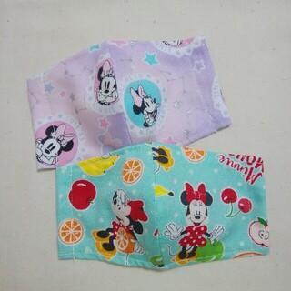 ディズニー(Disney)のミニーちゃん インナーマスク 子供用 2枚組(外出用品)