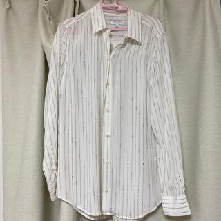 ドゥーズィエムクラス(DEUXIEME CLASSE)のエキップモン EQUIPMENT シルクシャツ Sサイズ(シャツ/ブラウス(長袖/七分))