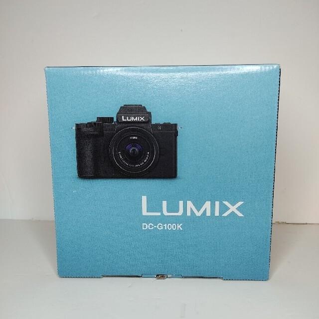Panasonic(パナソニック)の【新品】Panasonic Lumix DMC-G100K スマホ/家電/カメラのカメラ(ミラーレス一眼)の商品写真