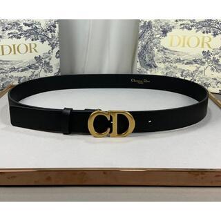 クリスチャンディオール(Christian Dior)のDior ブラック ベルト 2.0cm(ベルト)