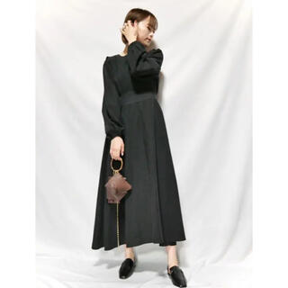waist switching onepiece Reurie'(ロングワンピース/マキシワンピース)