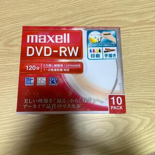 マクセル(maxell)のDVD RW10枚 maxell DW120WPA.10S(その他)