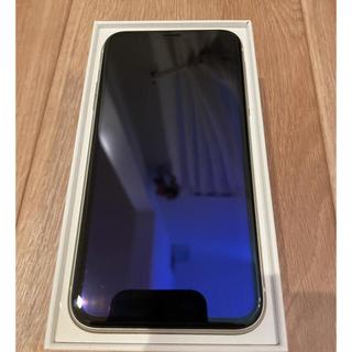 IPhone11 128G SIMフリー ホワイト 美品