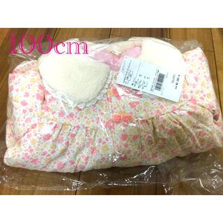クーラクール(coeur a coeur)の新品未使用♡クーラクール♡小花柄中綿ジャケット 100cm(コート)