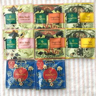 ミントン(MINTON)のミントン 和紅茶 4種 8パック(茶)