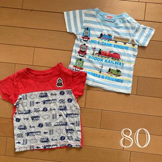 UNIQLO - トーマス 半袖Tシャツ 2枚 男の子