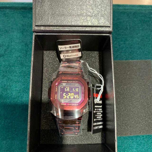 G-SHOCK(ジーショック)のカシオ CASIO G-SHOCK  GMW-B5000RD-4JF  メンズの時計(腕時計(デジタル))の商品写真