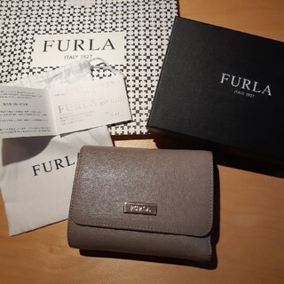 Furla - FURLA フルラ 三つ折り財布 佐野プレミアム・アウトレット購入 優しいベージ