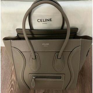celine - CELINE セリーヌ ラゲージ トートバッグ