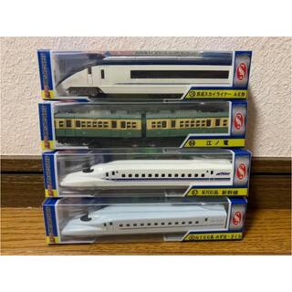 新品♡電車のおもちゃ4点セット(電車のおもちゃ/車)