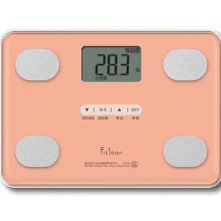 タニタ(TANITA)のタニタ fit scan 体重計 TANITA FS-102-PK ピンク(体重計/体脂肪計)
