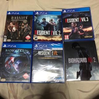 PlayStation4 -  PS4 バイオハザード RESIDENT EVIL2.3.7 スチールブック