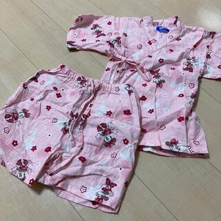 ディズニー(Disney)のディズニーミニーちゃん甚平(甚平/浴衣)