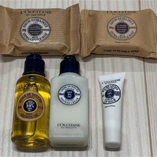 L'OCCITANE - 【ロクシタン♡シア♡まとめ売り】シャワーオイル バスソープ リップバーム 石鹸