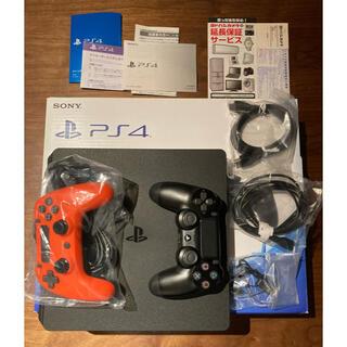 プレイステーション4(PlayStation4)の【保証残有り】【状態良】PlayStation4 本体 CUH-2000AB01(家庭用ゲーム機本体)