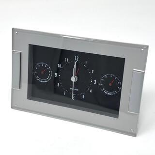 置時計(温度・湿度計付き)