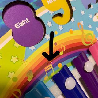 【新品】知育玩具 モンテッソーリ 型はめパズル 鉄琴 魚釣り ブロック(知育玩具)