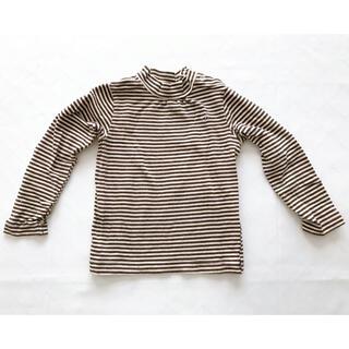 ハッカベビー(hakka baby)のハッカベビー ボーダーカットソー ロンT 90cm(Tシャツ/カットソー)
