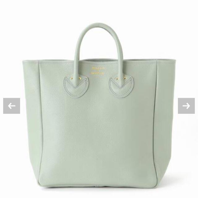 IENA(イエナ)のIENA 【ヤングアンドオルセン】レザートートバッグ(M)グリーン レディースのバッグ(トートバッグ)の商品写真